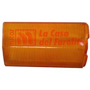 PLÁSTICO DE FAROL TRASERO FIAT 124 ITALIANO ÁMBAR