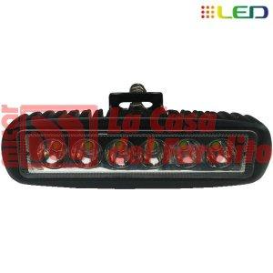 CAMINERO DE 6 LED RECTANGULAR 160 X 60 X 70 MM