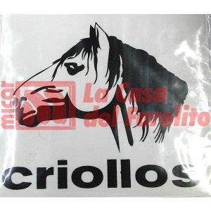 CALCO CRIOLLOS 15 X 13,5 CM