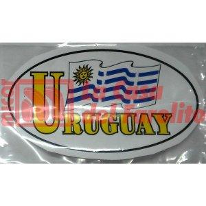 CALCO OVALADO URUGUAY 14,5 X 8 CM