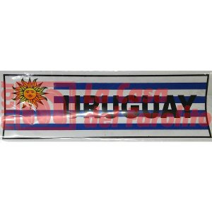 CALCO URUGUAY 19 X 7 CM